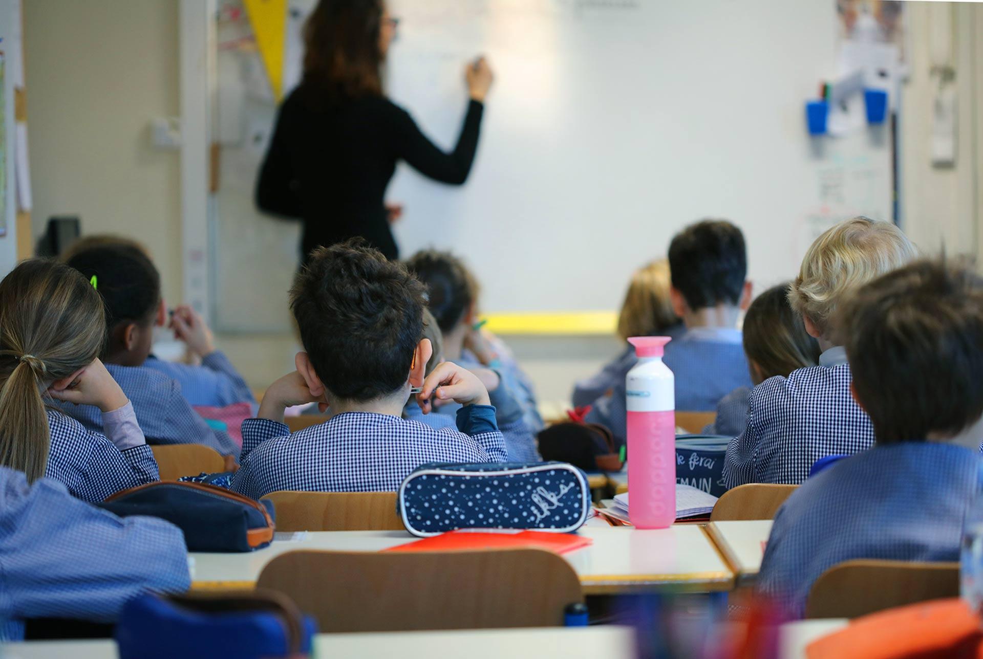 Une école sous contrat avec l'Etat