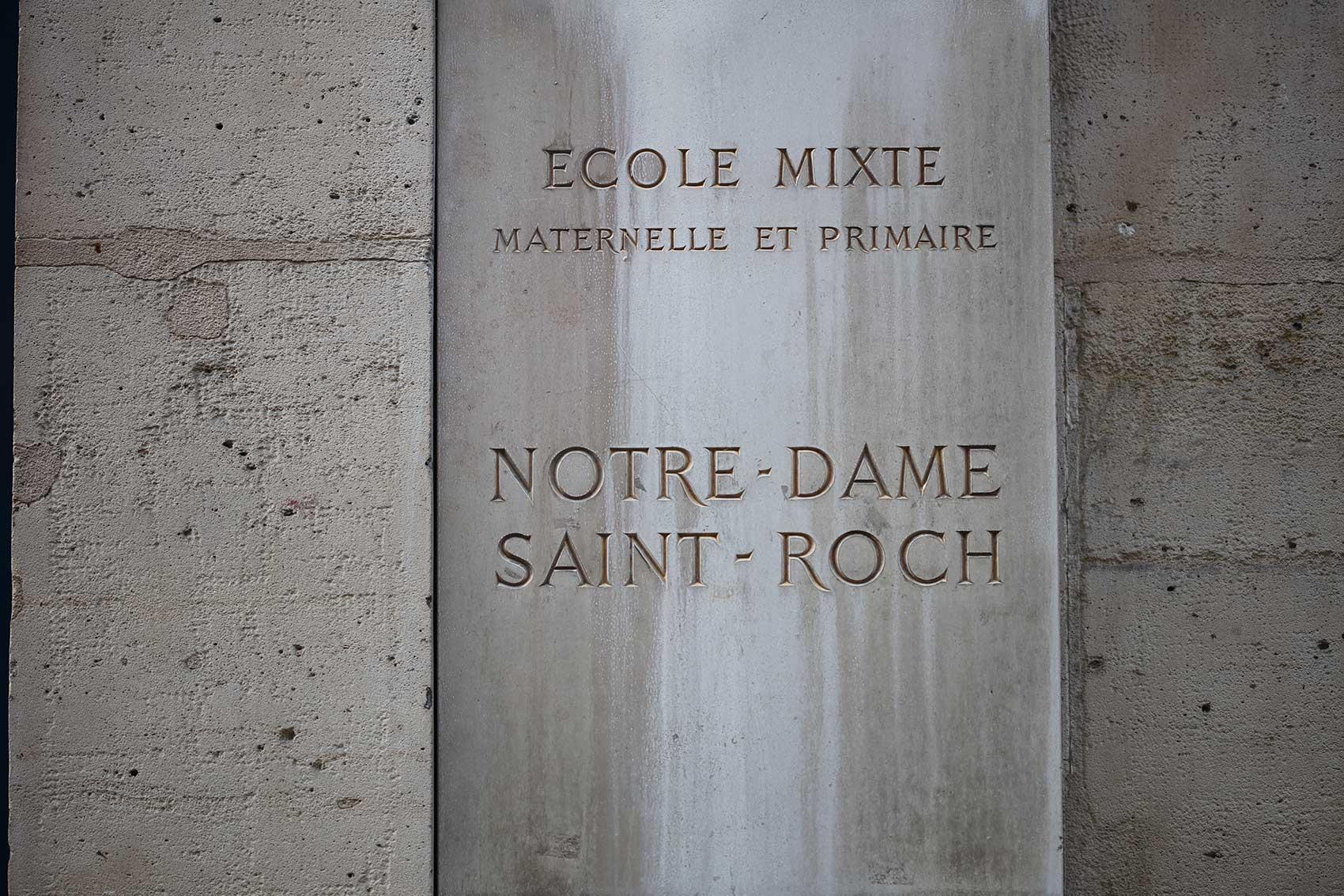 Découvrez l'école maternelle Notre-Dame Saint-Roch